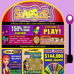 Super Slots Casino Offer The Best Las Vegas Style Slot Games Online